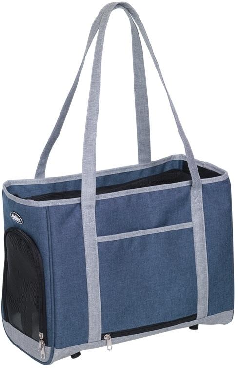 Nobby přepravní taška TOMMA modro-šedá 40x22x28cm