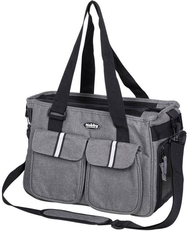 Nobby přepravní taška SAFI šedá 40x20x24cm