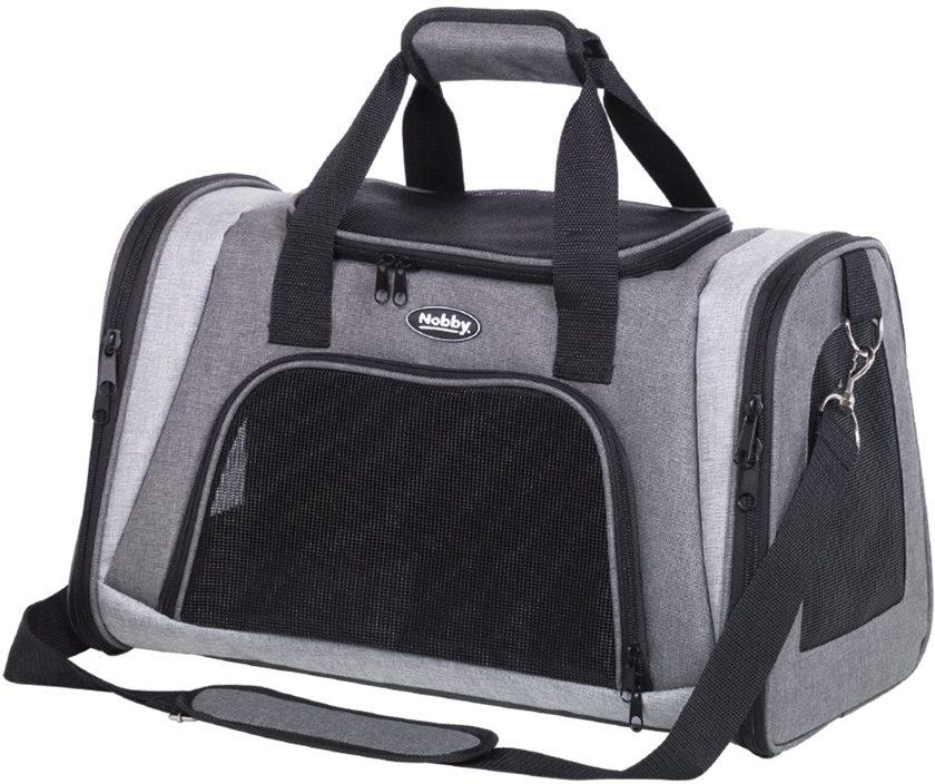 Nobby přepravní taška ZAMO šedá světle šedá 46x28x29cm