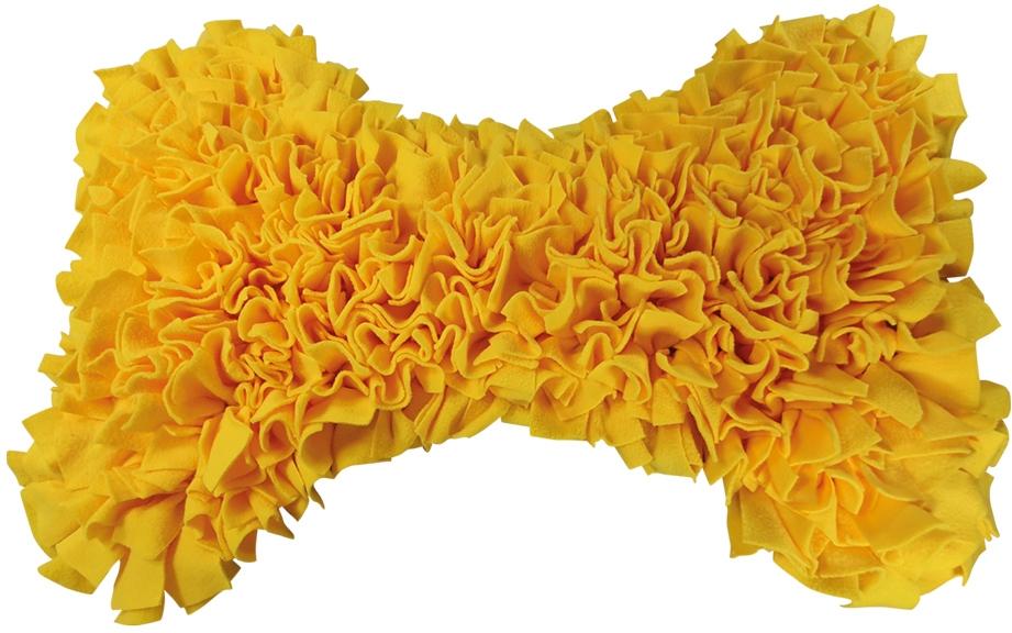 Nobby čmuchací kobereček Kost žlutá 70x50cm