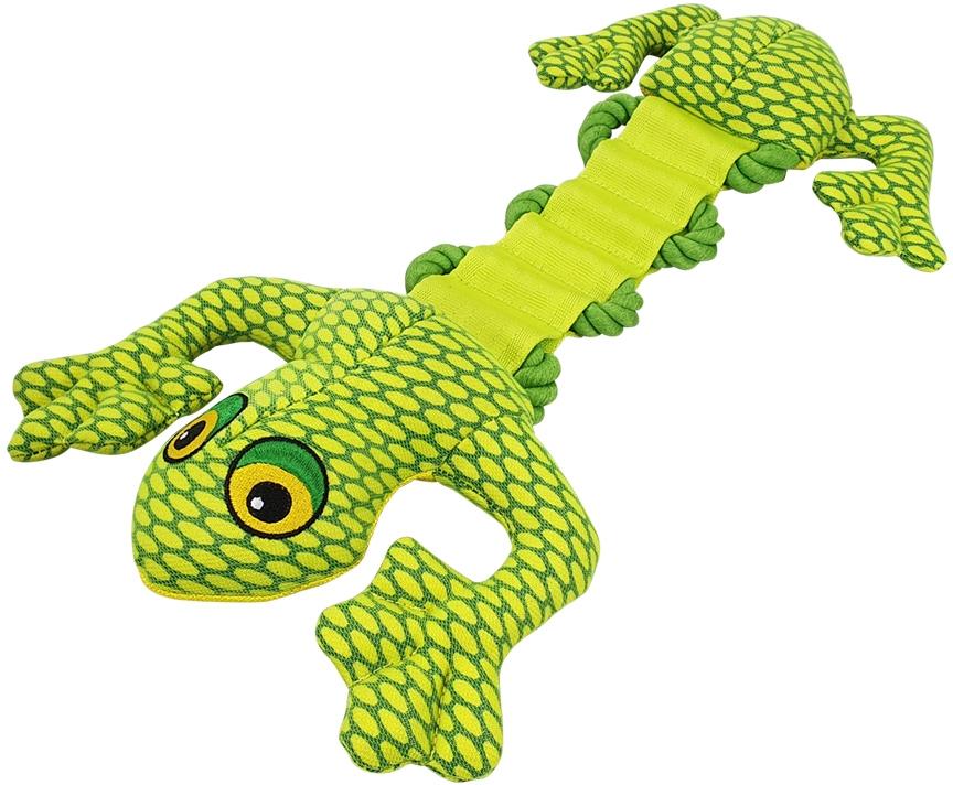Nobby hračka propletená žába pevný nylon 43cm