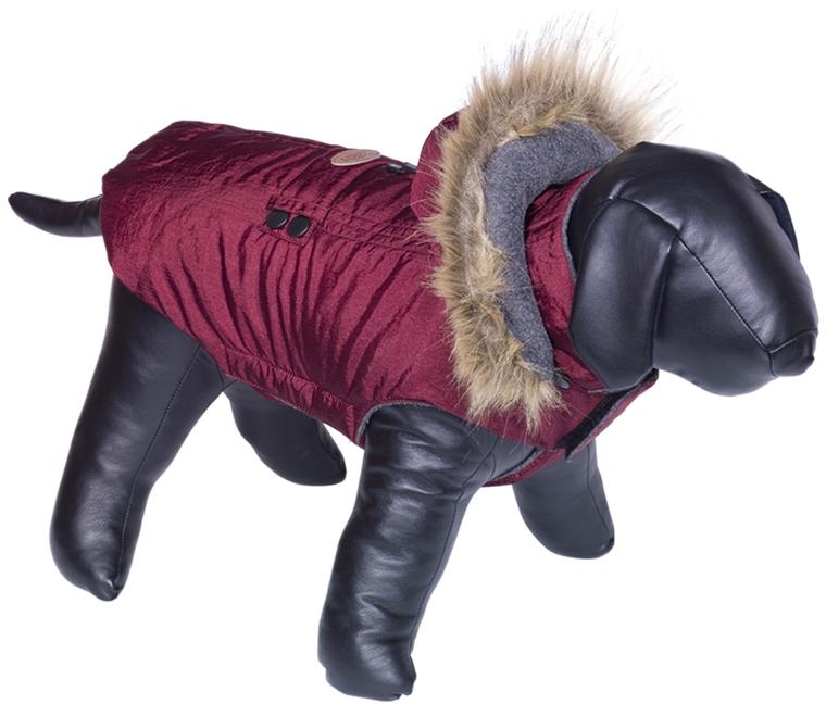 Nobby obleček pro psa LIAM s kožíškem červená 36cm