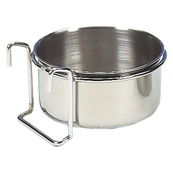 Nobby nerezová miska k zavěšení do klece 8cm / 150ml