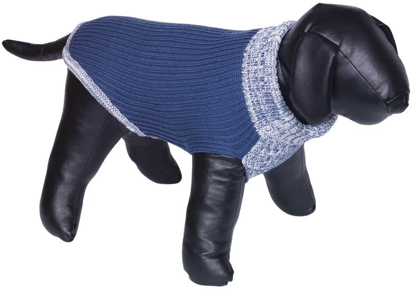 Nobby psí svetr FARGO modrá 20cm