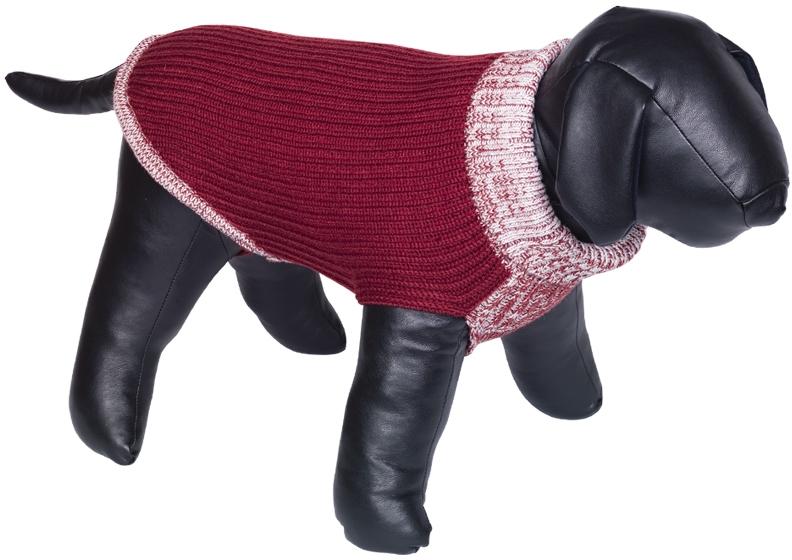 Nobby psí svetr FARGO červená 20cm