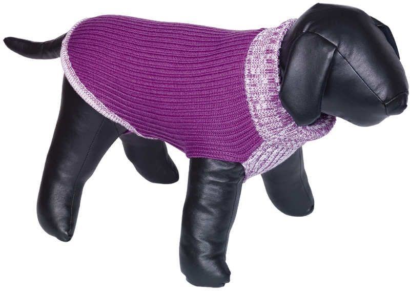 Nobby psí svetr FARGO růžová 20cm