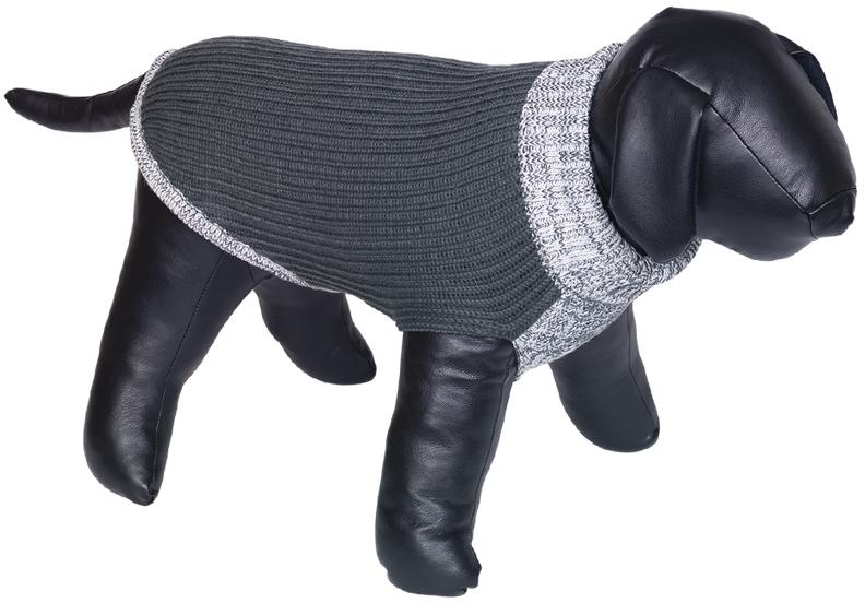 Nobby psí svetr FARGO šedá 20cm