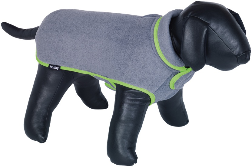 Nobby ZALA fleece mikina pro psa šedá 26cm