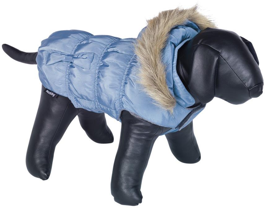 Nobby DAIKI obleček pro psa modrá s kožíškem 20cm