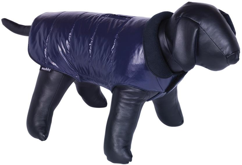 Nobby MADAN obleček pro psa lesklá modrá 20cm