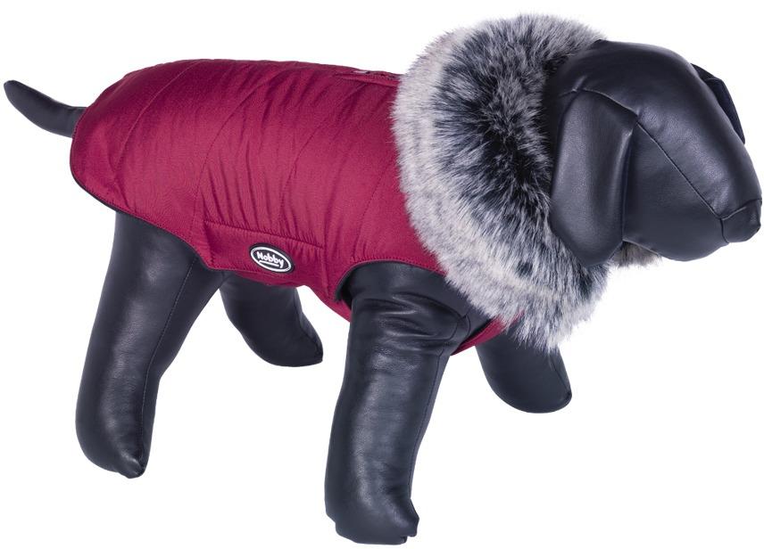 Nobby ADUA obleček pro psa červená s kožíškem 26cm
