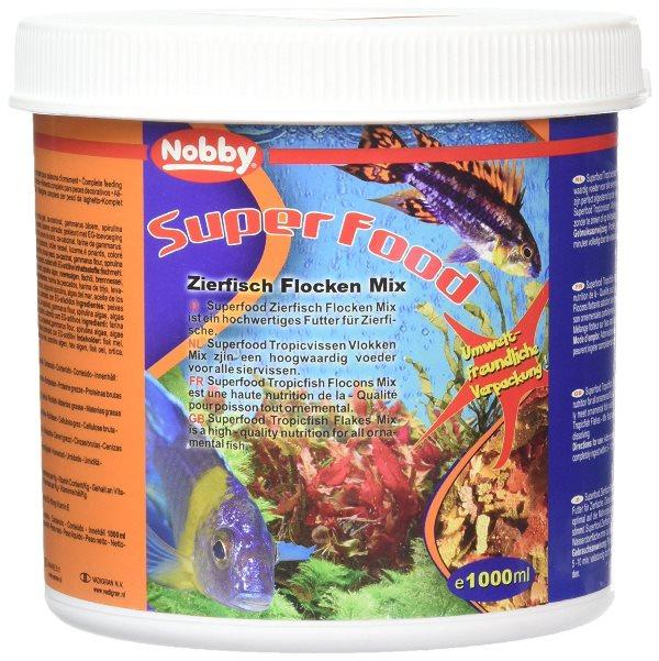 Nobby vločkový mix pro akvarijní rybky 1 L
