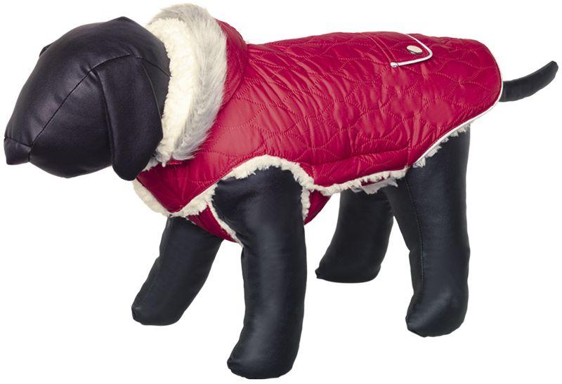 Nobby Polar obleček pro psa s kapucí červená 23cm