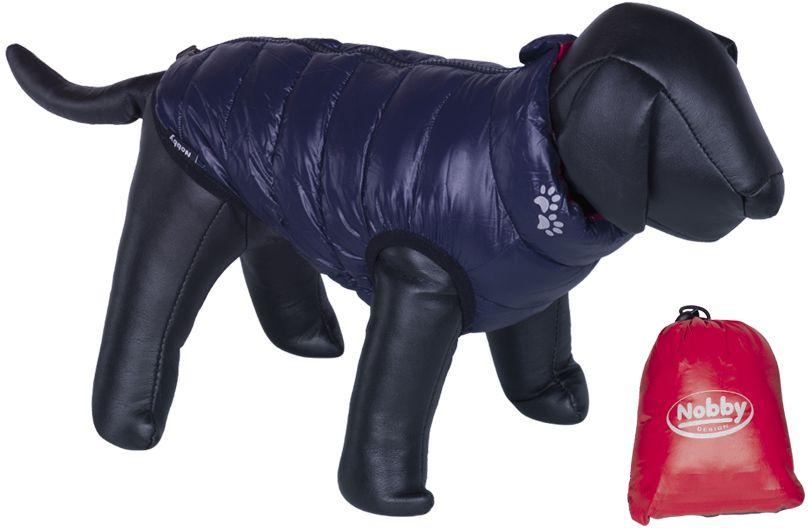 Nobby LIGHT vesta pro psa oboustranná červená/námořnická modř 23cm