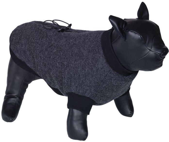 Nobby MINIK obleček pro buldočka tmavě šedá L 37cm
