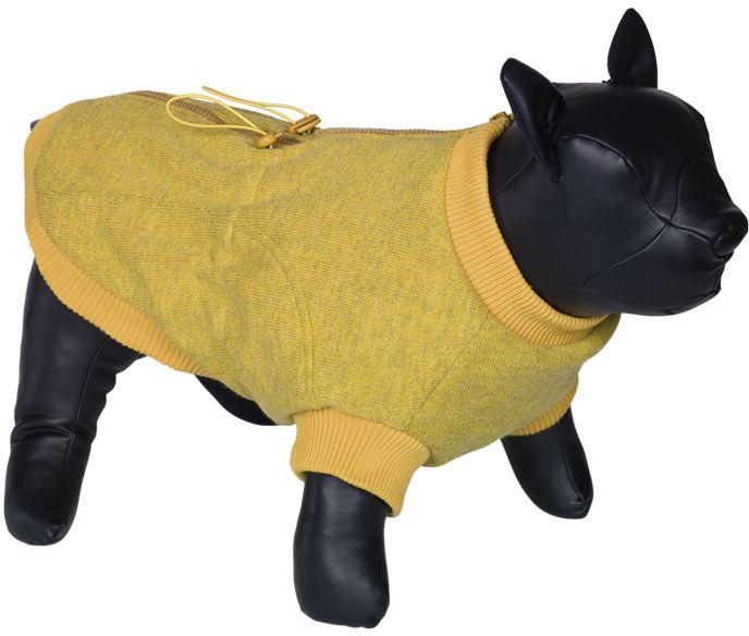 Nobby MINIK obleček pro buldočka hořčicově žlutá L 37cm