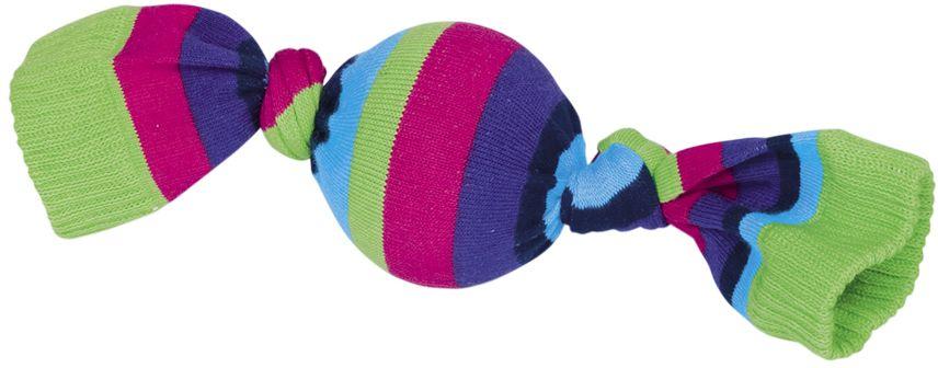 Nobby gumová hračka pro psy míček v ponožce 6,5 x 26 cm