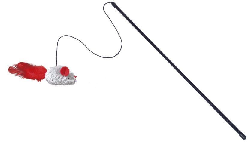 Nobby hračka pro kočky udice myš spec. zvuk 1 ks