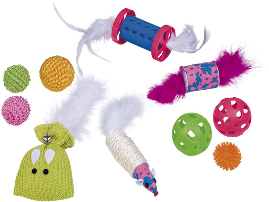 Nobby startovní set hraček pro kočku 10ks