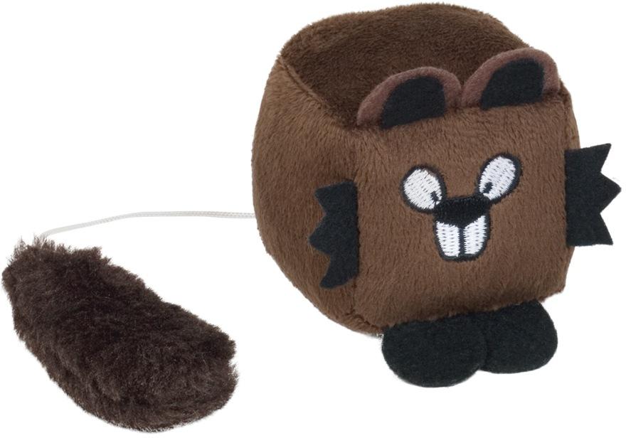Nobby hračka pro kočky natahovací bobr 6cm