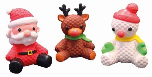 Nobby vánoční hračka postavička sedící 12cm 1ks