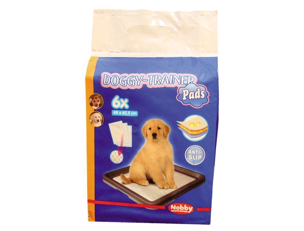 Nobby Doggy Trainer L podložky pro štěňata 62,5 x 48 cm 6 ks