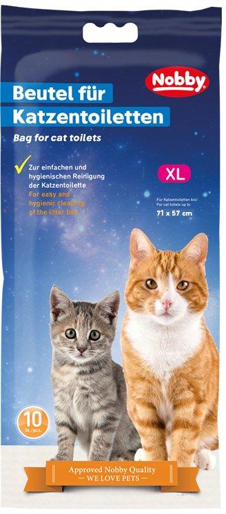Nobby sáčky XL do kočičí toalety 10 ks