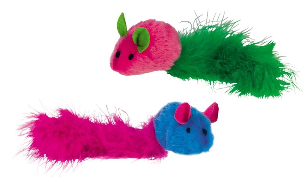 Nobby hračka se zvukem myšky 2ks 20cm