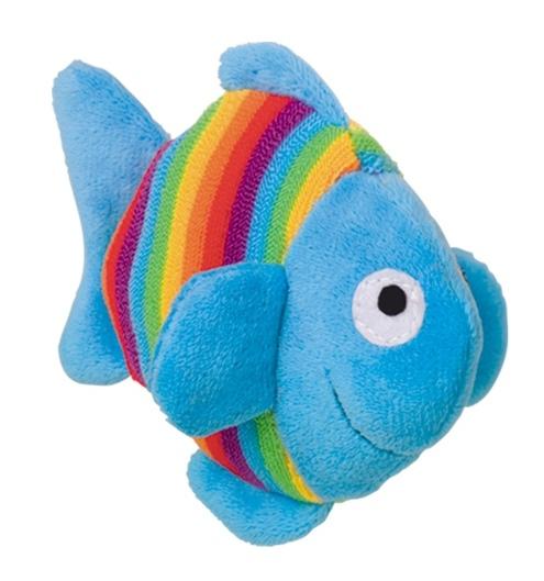 Nobby RAINBOW hračka plyšový rybka 12cm