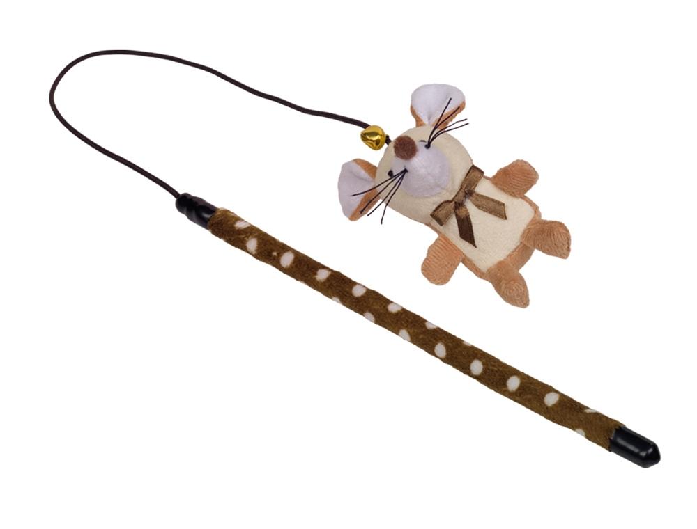 Nobby hračka udice na hraní myška 25+40cm