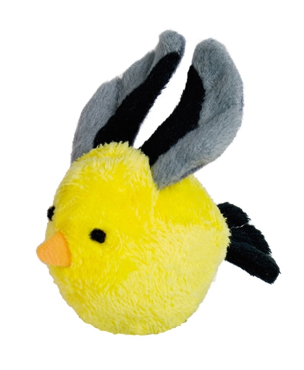 Nobby hračka plyšový žlutý ptáček 8cm
