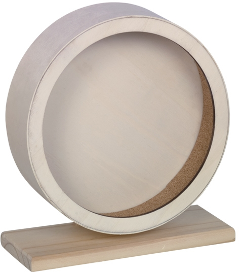 Nobby dřevěný tichý kolotoč CORK pro hlodavce 20 cm