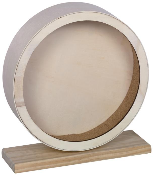 Nobby dřevěný tichý kolotoč CORK pro hlodavce 29 cm