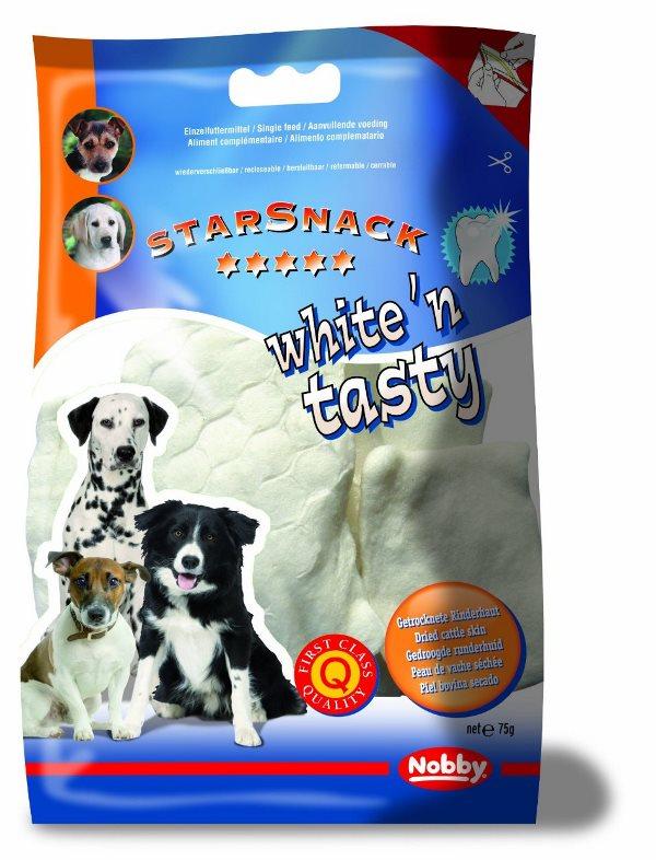 Nobby StarSnack White'n Tasty chipsy 10cm 5ks