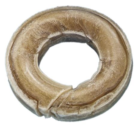 Nobby kolečko s dírou z buvolí kůže 7cm 40g 1ks