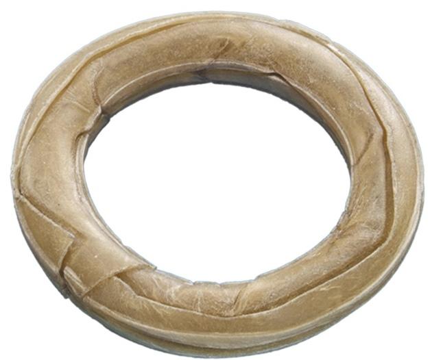 Nobby pamlsek kruh velý z buvolí kůže 15cm 175g 1ks