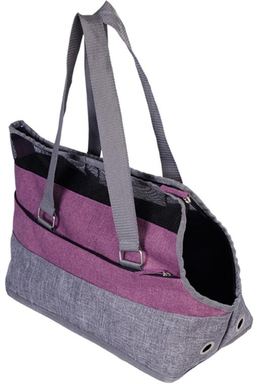Nobby Sark růžová taška do 5kg 41x21x27cm