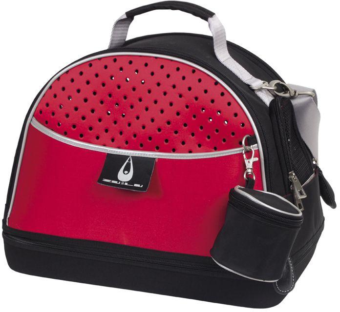 Nobby Alexia 3v1 přepravní taška červená do 5 kg 36x22x29cm