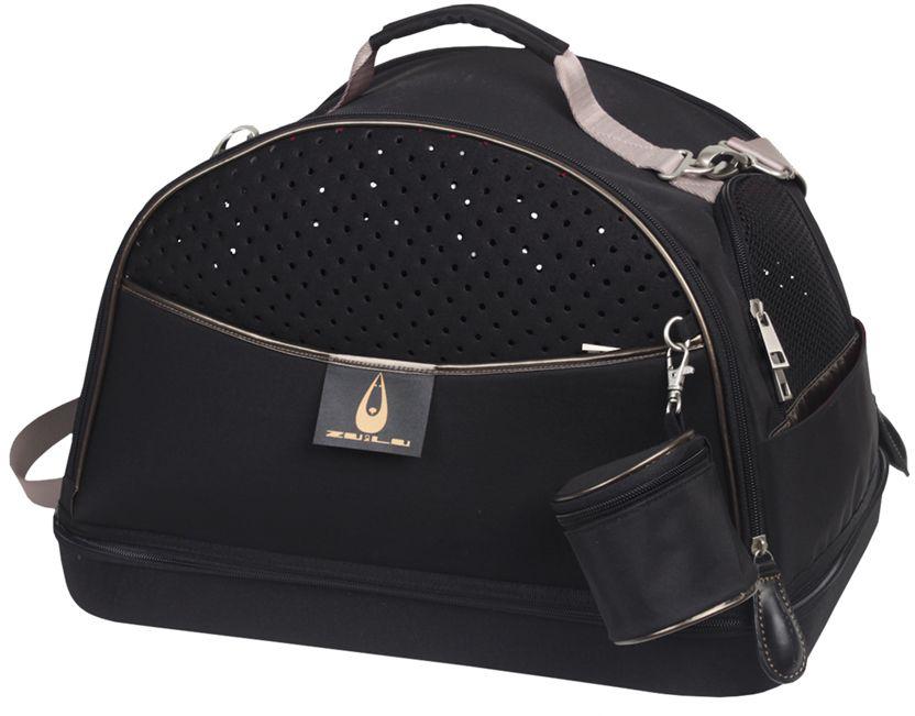 Nobby Alexia 3v1 přepravní taška černá do 7 kg 44x31x30cm