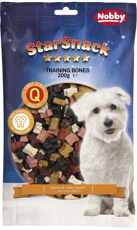 Nobby StarSnack Training Bones pamlsky pro psa 200g