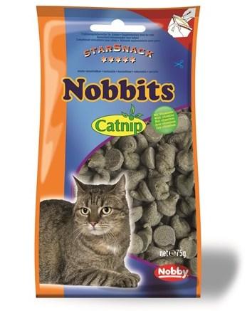 Nobby StarSnack Nobbits Catnip pamlsky pro kočku 75g