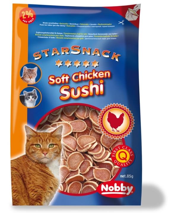 Nobby StarSnack pamlsky pro kočku kuře, tuňák 85g