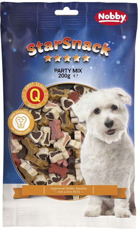 Nobby StarSnack Party Mix pamlsky pro psa 200g