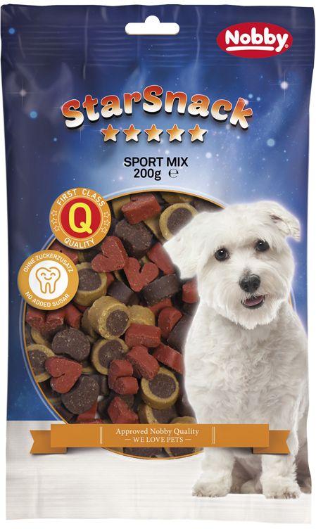 Nobby StarSnack Sport Mix pamlsky pro psa 200g