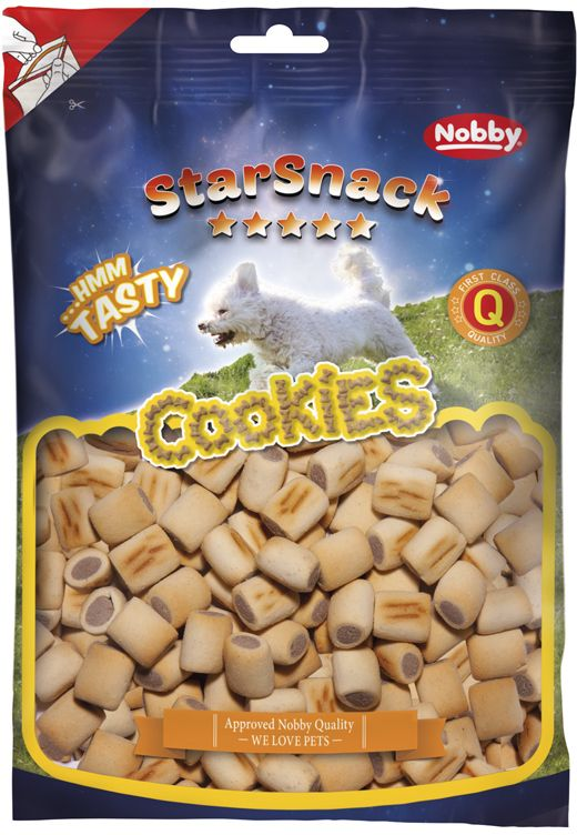 Nobby StarSnack Cookies Duo Mini pečené pamlsky 500g