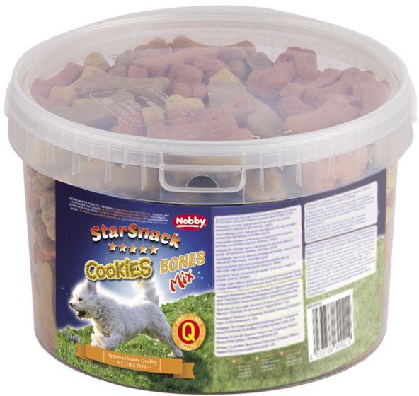 Nobby StarSnack Cookies Bones Mix pečené pamlsky 1,3kg