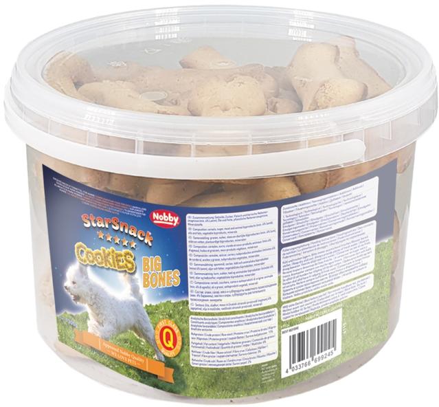 Nobby StarSnack Cookies Big Bone pamlskové sušenky 1,3kg