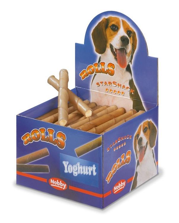 Nobby Starsnack Rolls Buvolí trubičky plněné jogurt 50ks
