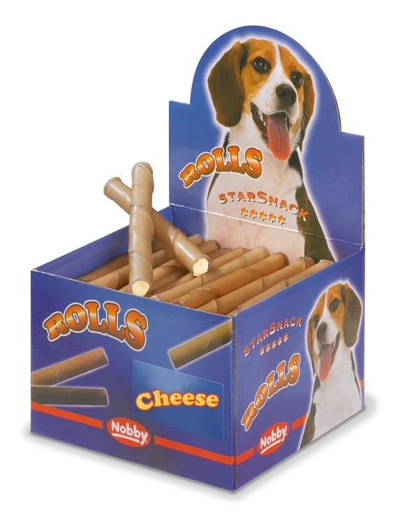 Nobby Starsnack Rolls Buvolí trubičky plněné sýrové 50ks