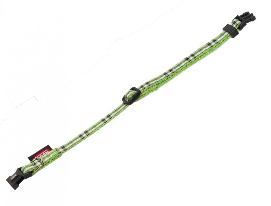 Nobby Tartan obojek 13-20cm zelená